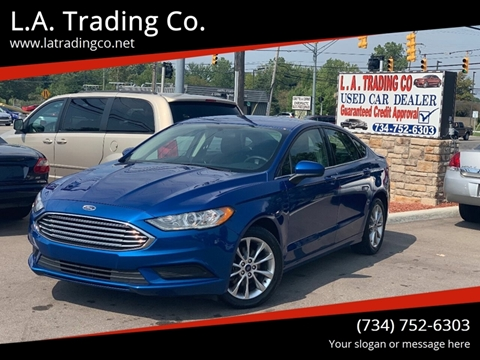 2017 Ford Fusion for sale at L.A. Trading Co. in Woodhaven MI