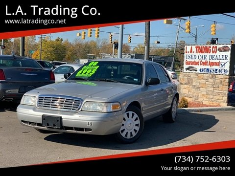 2008 Ford Crown Victoria for sale at L.A. Trading Co. in Woodhaven MI