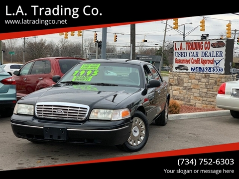 2003 Ford Crown Victoria for sale at L.A. Trading Co. in Woodhaven MI