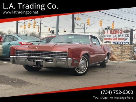 1967 1967 cadillac for sale at L.A. Trading Co. in Woodhaven MI