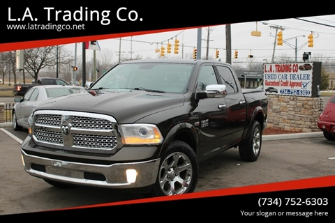 2013 RAM Ram Pickup 1500 for sale at L.A. Trading Co. in Woodhaven MI