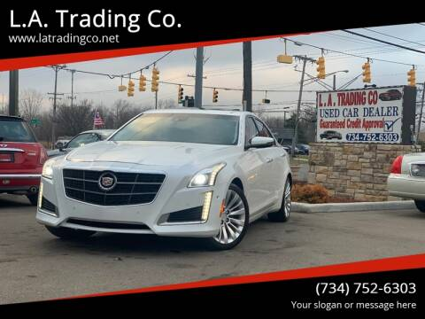 2015 Cadillac CTS for sale at L.A. Trading Co. in Woodhaven MI