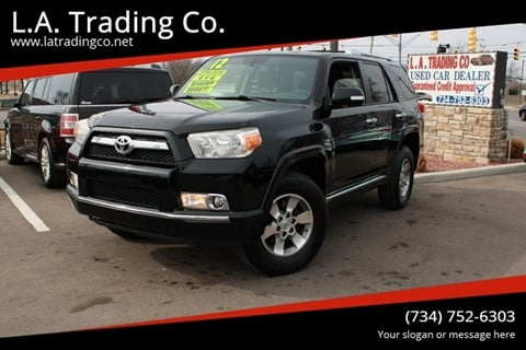 2012 Toyota 4Runner SR5 for sale at L.A. Trading Co. in Woodhaven MI