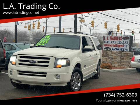 2008 Ford Expedition EL Limited for sale at L.A. Trading Co. in Woodhaven MI