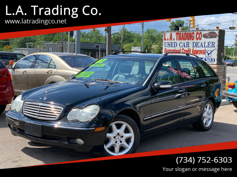 2002 Mercedes-Benz C-Class for sale at L.A. Trading Co. in Woodhaven MI