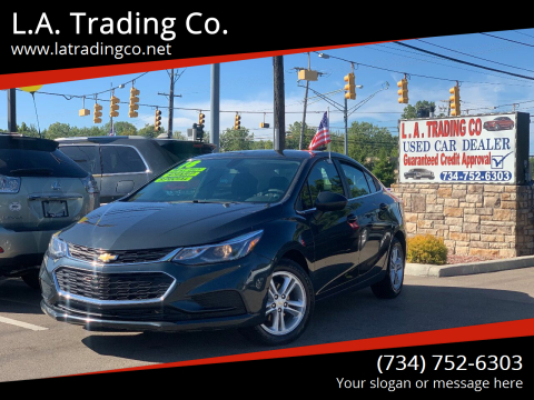 2018 Chevrolet Cruze for sale at L.A. Trading Co. in Woodhaven MI