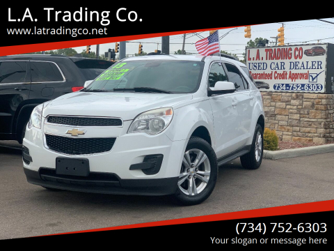 2013 Chevrolet Equinox for sale at L.A. Trading Co. in Woodhaven MI