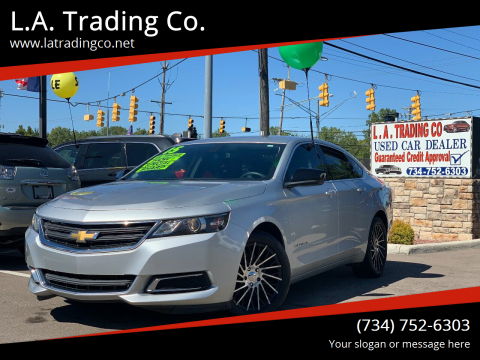 2015 Chevrolet Impala for sale at L.A. Trading Co. in Woodhaven MI