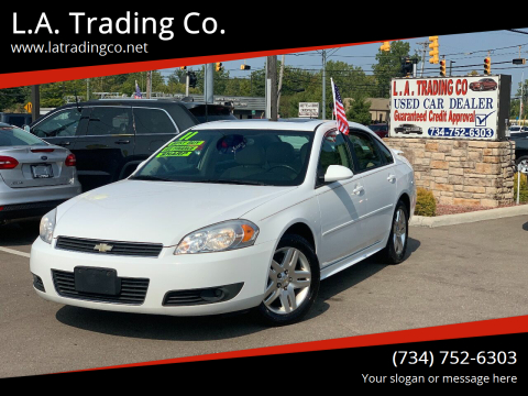 2011 Chevrolet Impala for sale at L.A. Trading Co. in Woodhaven MI