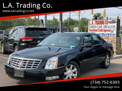 2006 Cadillac DTS for sale at L.A. Trading Co. in Woodhaven MI