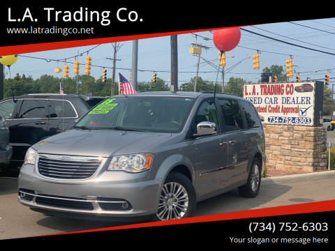 2015 Chrysler Town and Country for sale at L.A. Trading Co. in Woodhaven MI