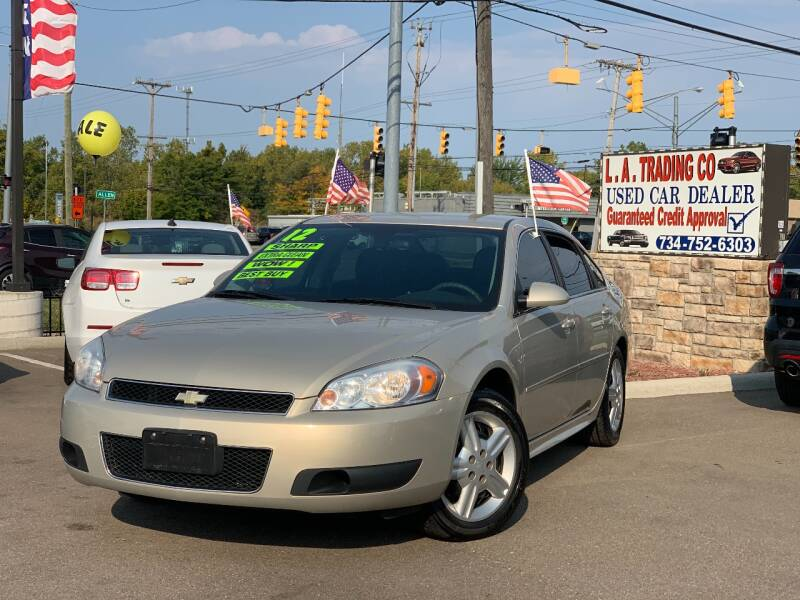 2012 Chevrolet Impala for sale at L.A. Trading Co. in Woodhaven MI