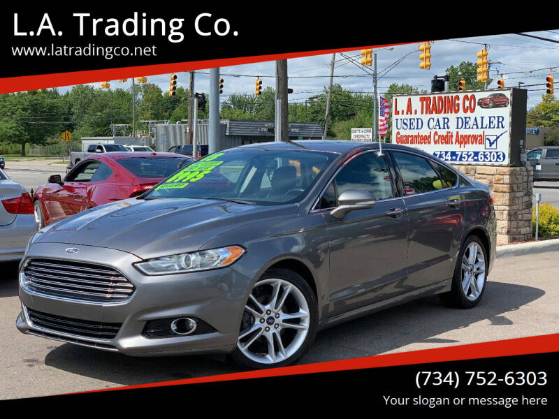 2013 Ford Fusion for sale at L.A. Trading Co. in Woodhaven MI
