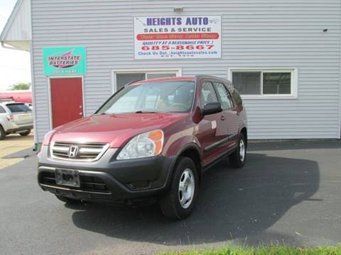 2002 Honda CR-V for sale in Peoria Heights, IL