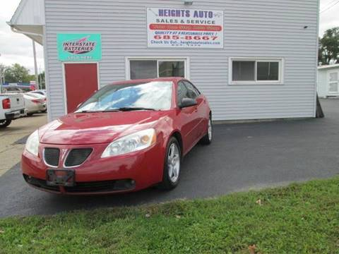 2007 Pontiac G6 for sale in Peoria Heights, IL