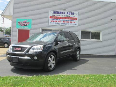 Gmc Acadia For Sale In Peoria Heights Il Heights Auto Sales
