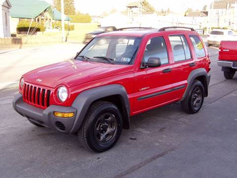 2004 Jeep Liberty for sale in Johnstown, PA
