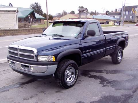2000 Dodge Ram Pickup 1500 for sale at The Autobahn Auto Sales & Service Inc. in Johnstown PA