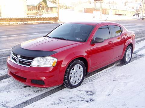 2013 Dodge Avenger for sale at The Autobahn Auto Sales & Service Inc. in Johnstown PA