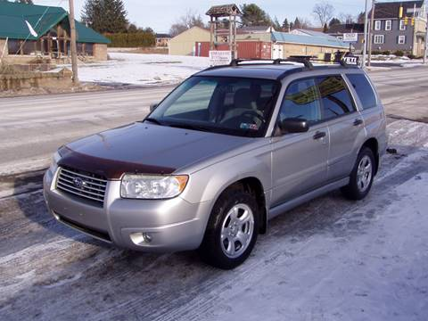 2007 Subaru Forester for sale at The Autobahn Auto Sales & Service Inc. in Johnstown PA