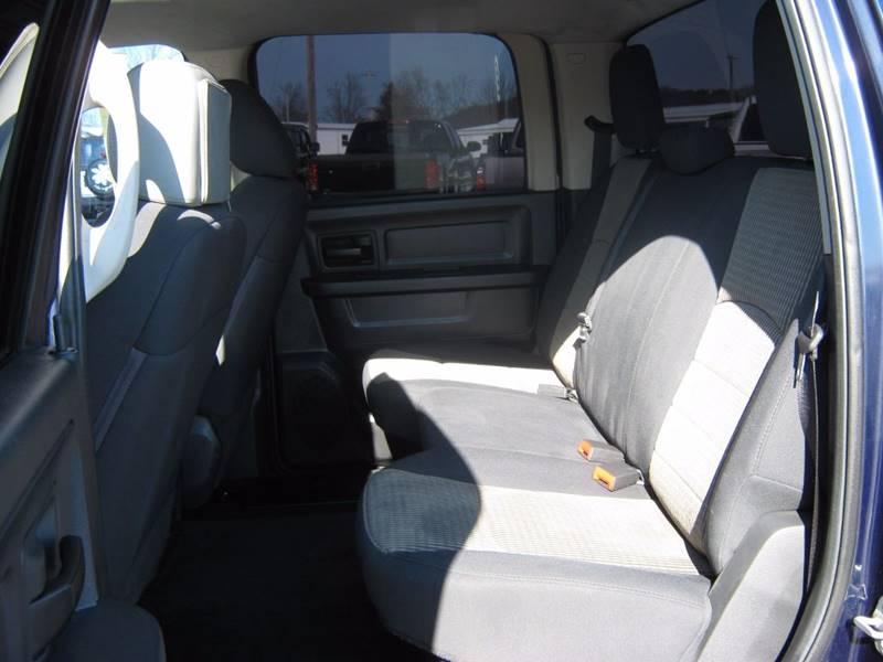 2012 RAM Ram Pickup 1500 4x4 Tradesman 4dr Crew Cab 5.5 ft. SB Pickup - Selinsgrove PA