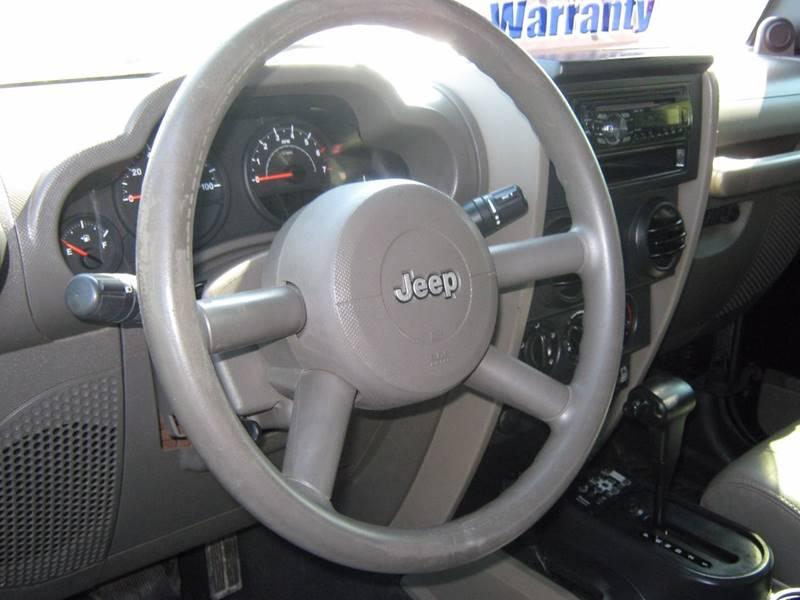2008 Jeep Wrangler 4x4 X 2dr SUV - Selinsgrove PA