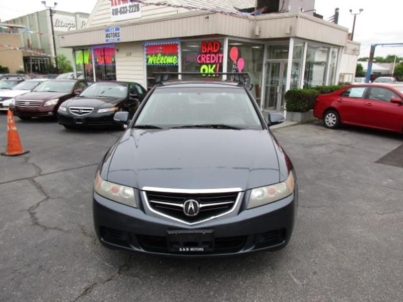 2005 acura tsx 4dr sedan in baltimore md a r motors rh anrmotorsmd com 2005 Acura TSX Black 2005 Acura TSX Wing