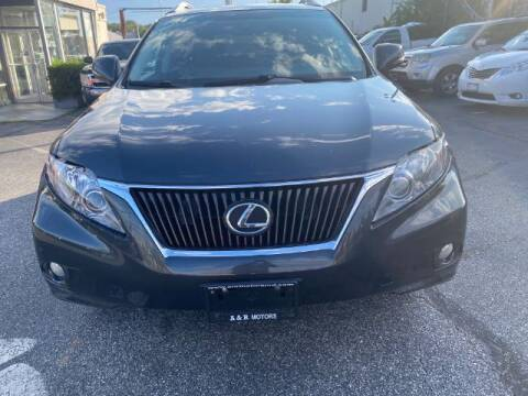 2010 Lexus RX 350 for sale at A&R Motors in Baltimore MD