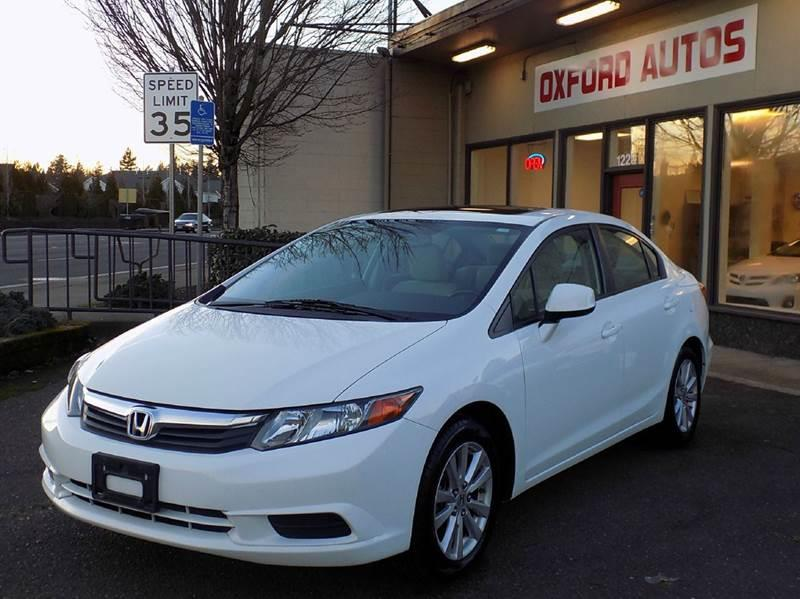 2012 Honda Civic EX 4dr Sedan - Hillsboro OR