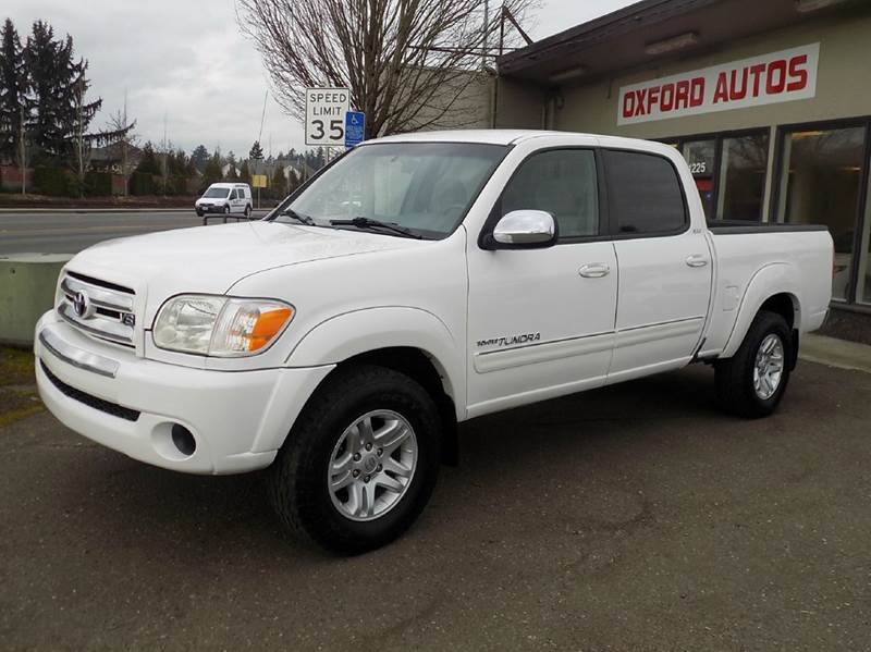 Great 2006 Toyota Tundra SR5 4dr Double Cab 4WD SB (4.7L V8 5A)