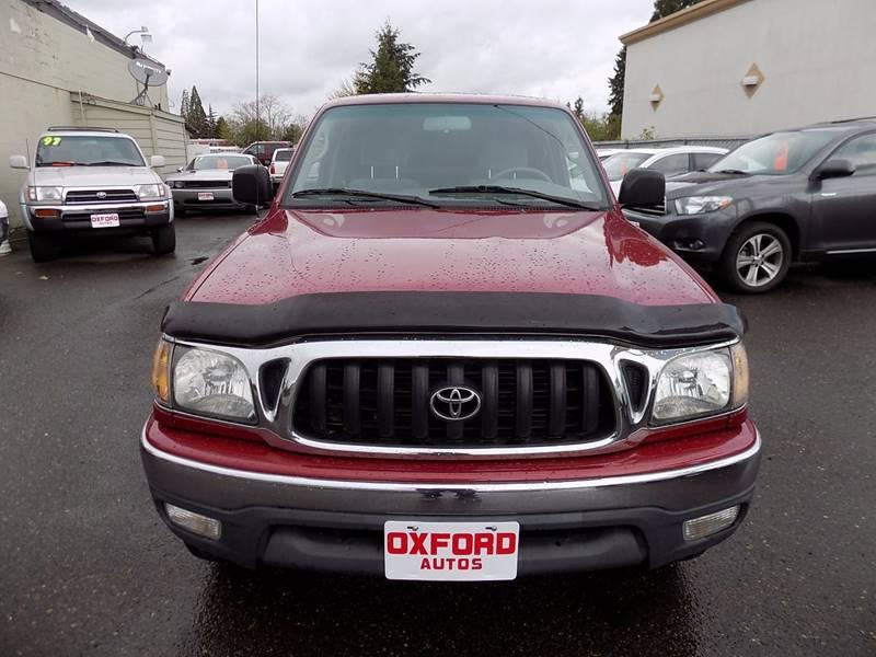 2002 Toyota Tacoma 2dr Xtracab V6 4WD SB - Hillsboro OR