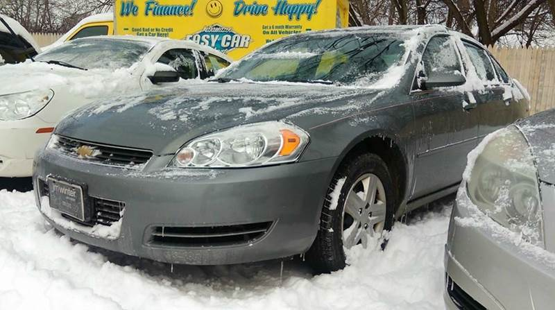 2008 Chevrolet Impala For Sale At Kalamazoo Easy Car In Kalamazoo MI