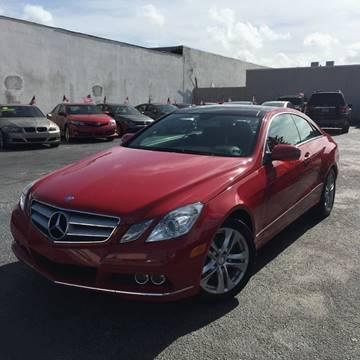 2010 Mercedes-Benz E-Class for sale in Oakland Park, FL