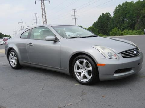 2003 Infiniti G35 for sale in Lexington NC