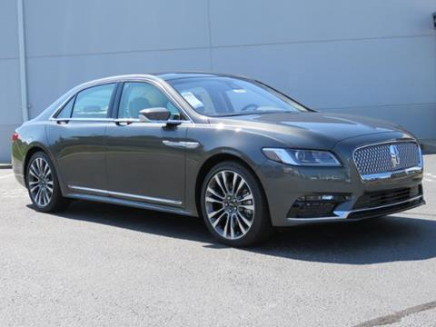 2017 Lincoln Continental for sale in Lexington NC