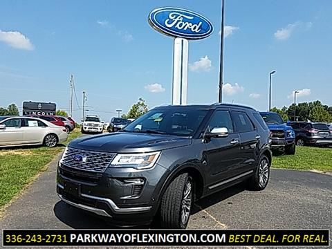 2018 Ford Explorer for sale in Lexington, NC