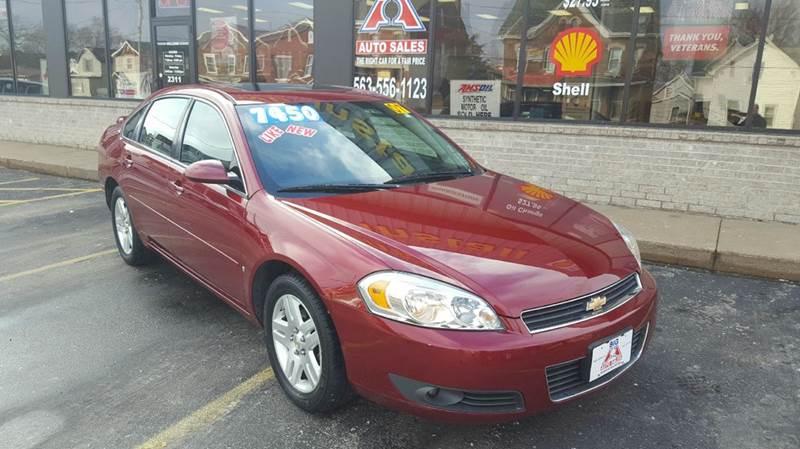 2007 Chevrolet Impala For Sale At Big A Auto Sales U0026 Service In Dubuque IA
