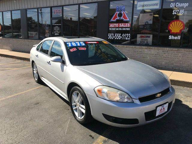 2012 Chevrolet Impala for sale at Big A  Auto Sales & Service in Dubuque IA