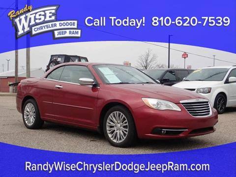 2014 Chrysler 200 Convertible for sale in Clio, MI