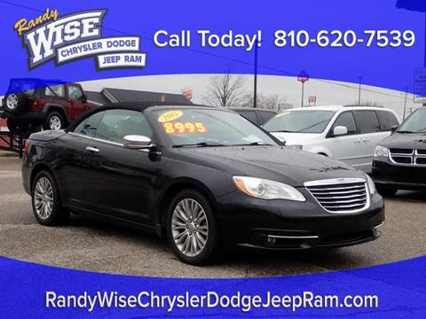 2012 Chrysler 200 Convertible for sale in Clio, MI