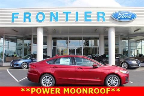 2019 Ford Fusion Hybrid for sale in Anacortes, WA