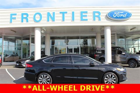 Frontier Ford Anacortes >> 2019 Ford Fusion For Sale In Anacortes Wa
