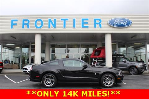 2010 Ford Shelby GT500 for sale in Anacortes, WA