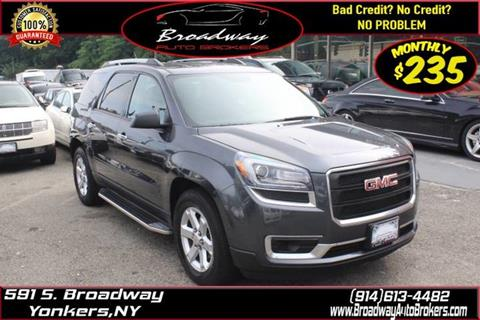 ad5db13361d240 2014 GMC Acadia for sale in Yonkers