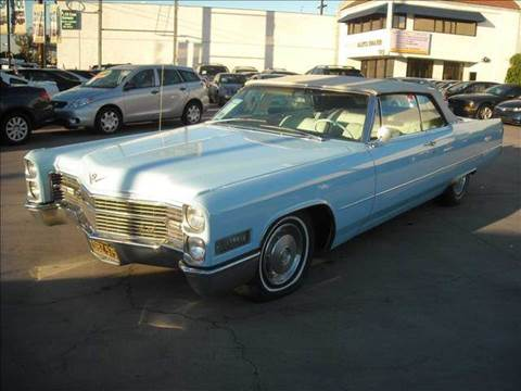 1966 Cadillac DeVille for sale at Best Buy Quality Cars in Bellflower CA