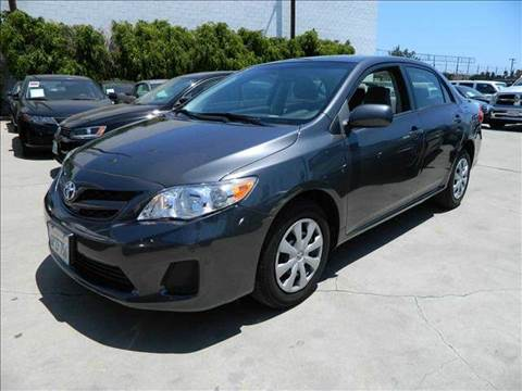 2011 Toyota Corolla for sale at Best Buy Quality Cars in Bellflower CA