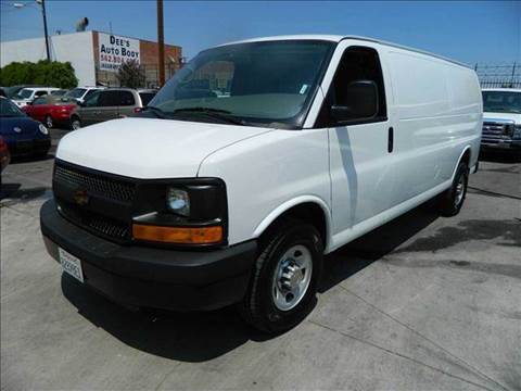 2012 Chevrolet Express for sale at Best Buy Quality Cars in Bellflower CA
