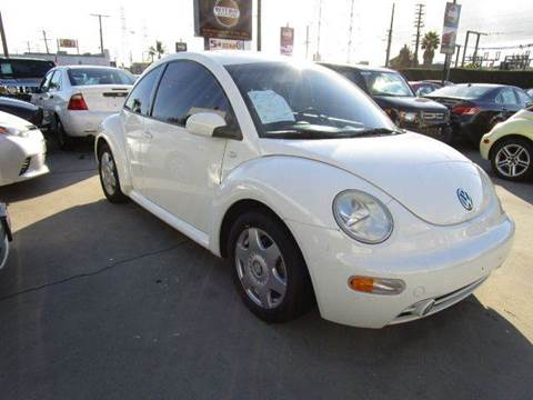2001 Volkswagen New Beetle for sale at Best Buy Quality Cars in Bellflower CA