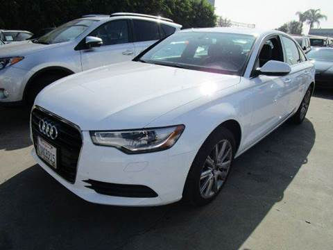 2013 Audi A6 for sale at Best Buy Quality Cars in Bellflower CA