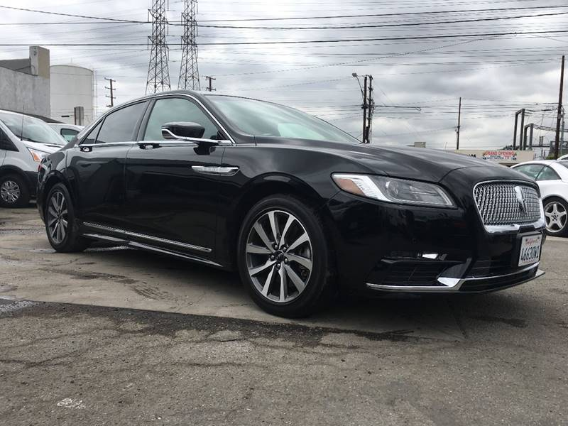 2017 Lincoln Continental Livery 4dr Sedan In Bellflower Ca Best
